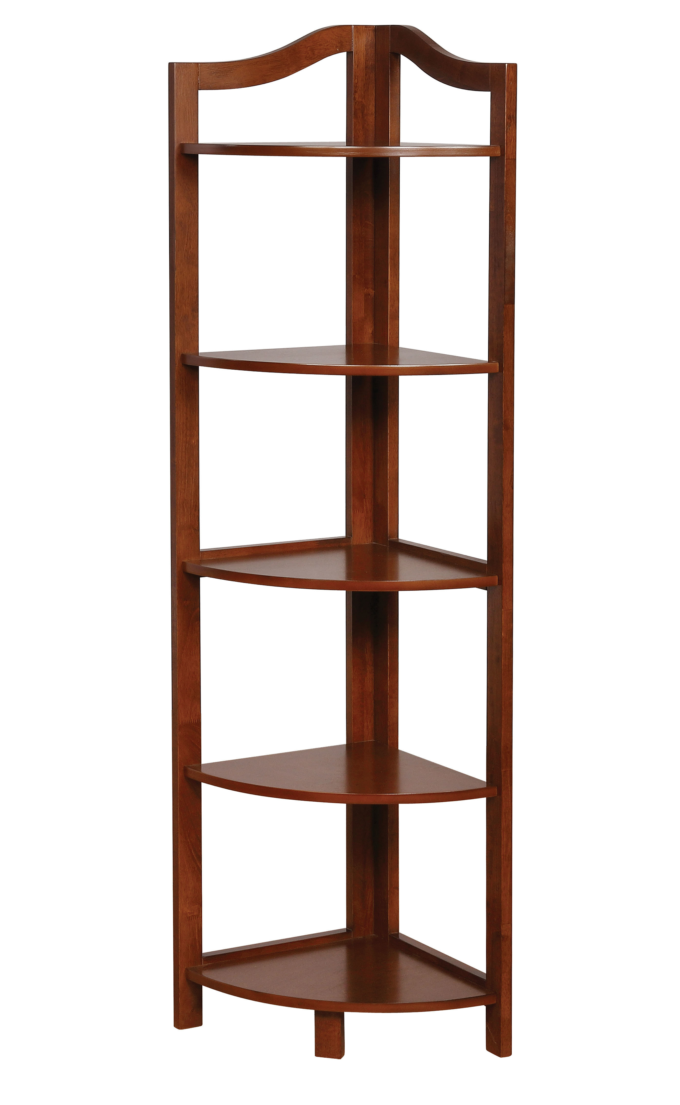 Most Recently Released Emerson Corner Unit Bookcases Within Carlotta Corner Unit Bookcase (View 14 of 20)