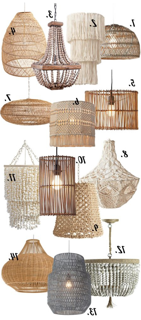 Most Recently Released Hatfield 3 Light Novelty Chandeliers Pertaining To Modern Boho Chandeliers & Pendant Lights – 14 Chic Options (View 20 of 25)
