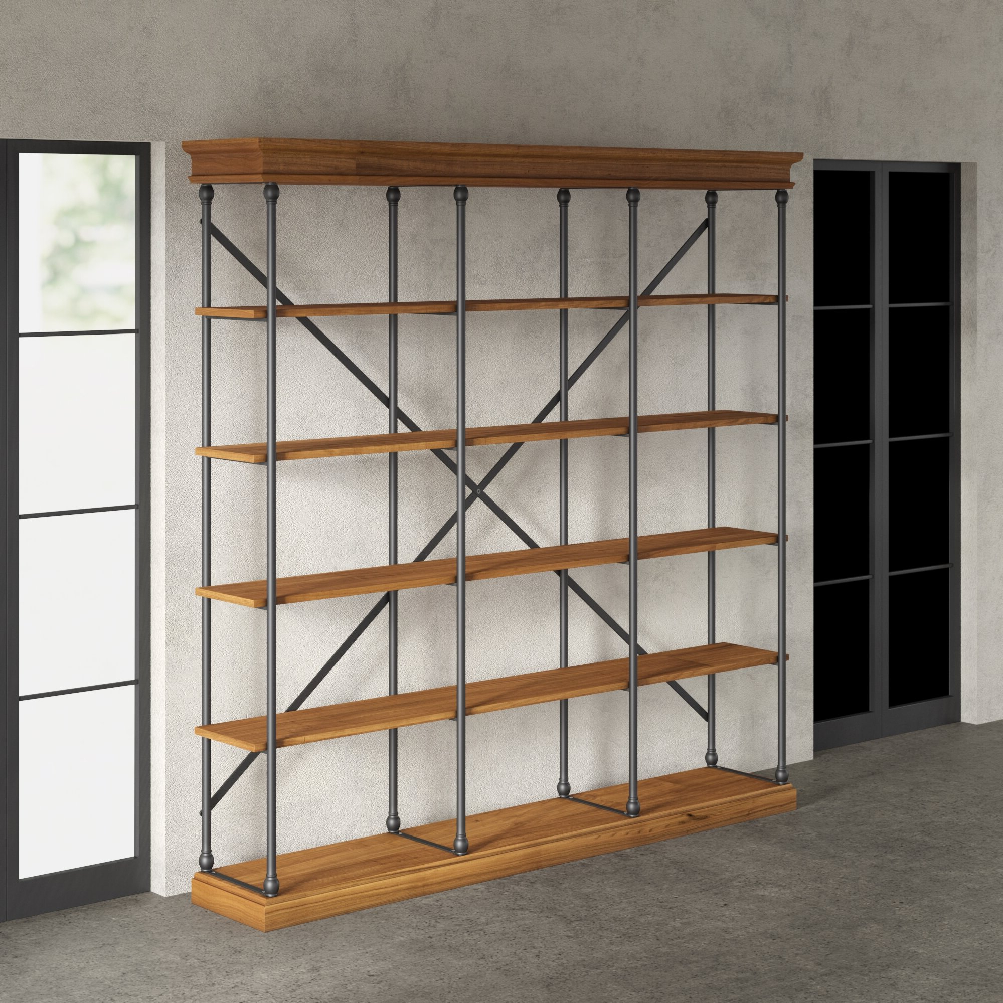 Most Recently Released Mabie Library Bookcases Pertaining To Greyleigh Poynor Library Bookcase (View 15 of 20)
