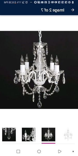 Most Recently Released New And Used Chandelier For Sale In Dublin, Oh – Offerup With Regard To Bouchette Traditional 6 Light Candle Style Chandeliers (View 20 of 25)