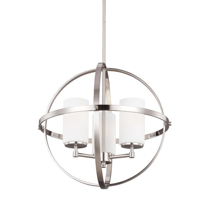 Most Recently Released Raine 3 Light Globe Chandelier Inside Gregoire 6 Light Globe Chandeliers (View 18 of 25)