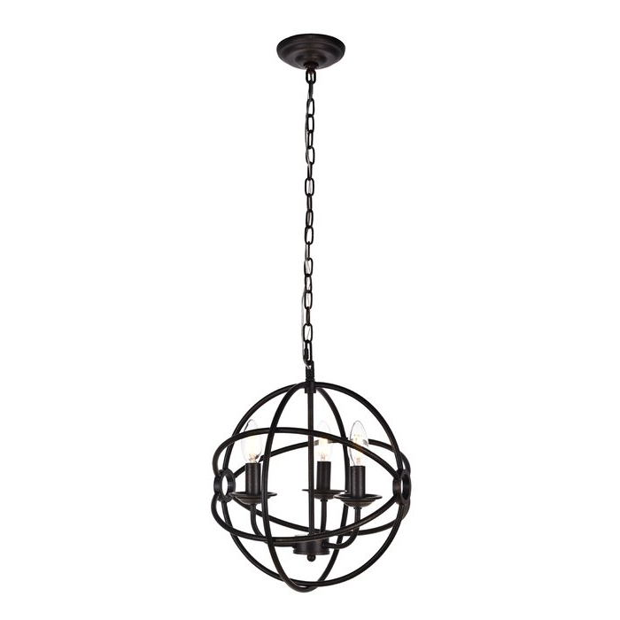 Most Recently Released Shipststour 3 Light Globe Chandeliers Intended For Shipststour 3 Light Globe Chandelier (View 11 of 25)