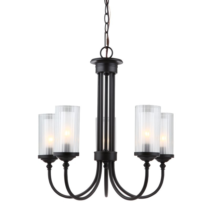 Most Recently Released Suki 5 Light Shaded Chandeliers Pertaining To Anakin 5 Light Shaded Chandelier (View 9 of 25)