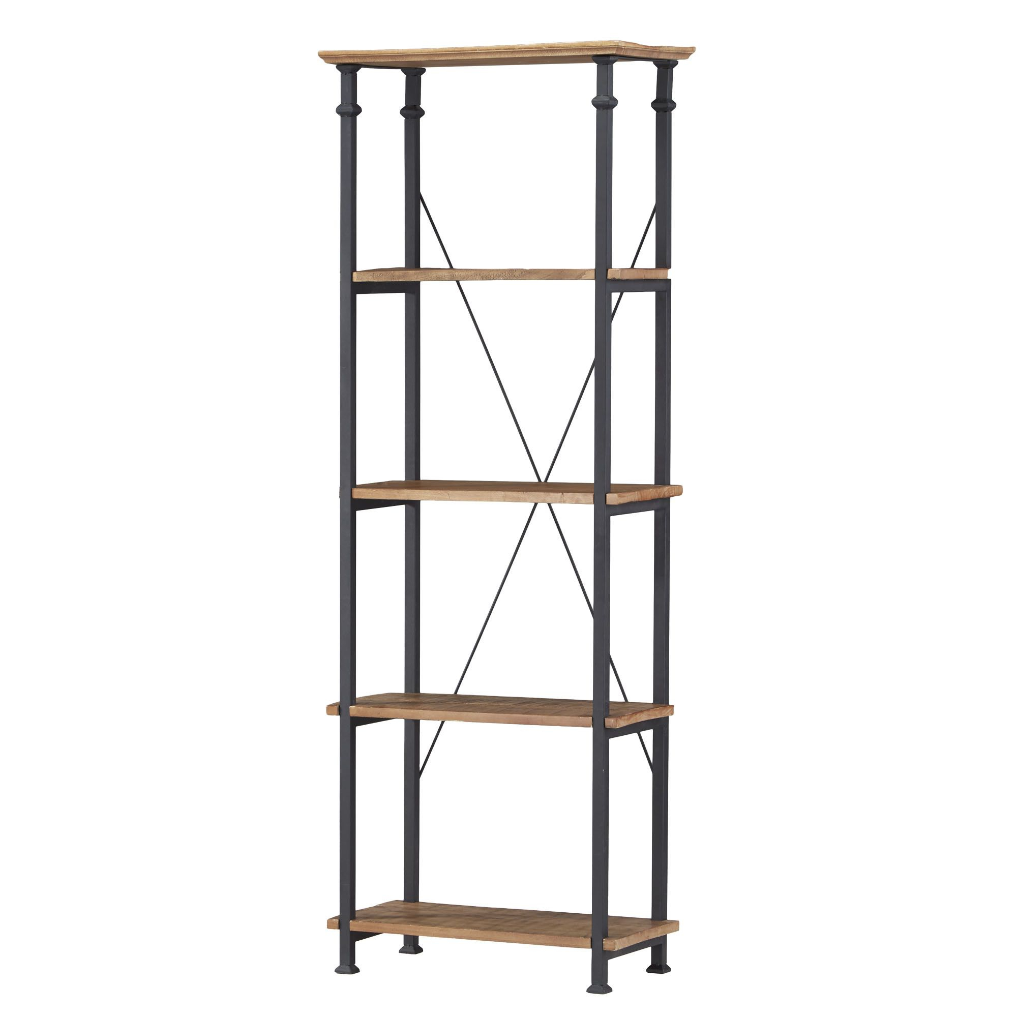 "Most Recently Released Zona Etagere Bookcases For Kingstown Home Eastfield 75"" Etagere Bookcase & Reviews (View 11 of 20)"