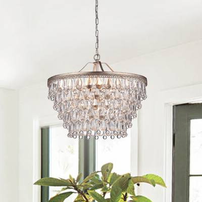 Most Up To Date Bramers 6 Light Novelty Chandeliers With Henry 6 Light Crystal Chandelier & Reviews (View 23 of 25)