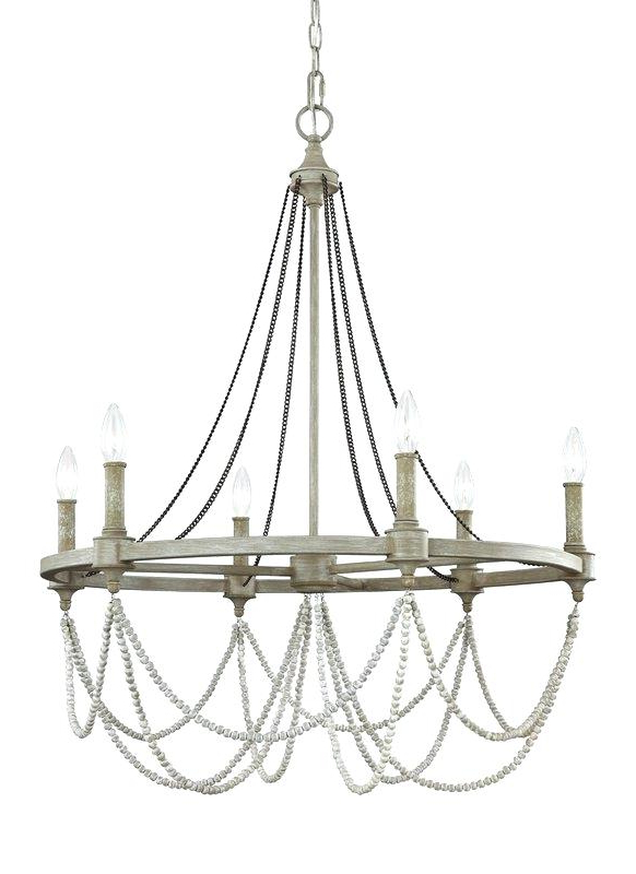 Most Up To Date Candle Style Chandelier Throughout Bennington 6 Light Candle Style Chandeliers (View 17 of 25)