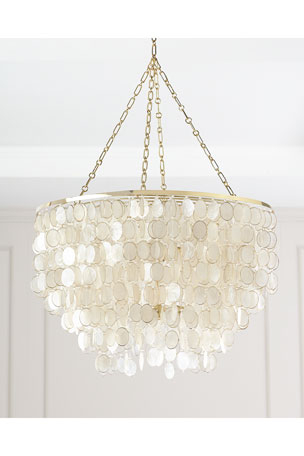 Most Up To Date Chandelier & Pendant Lighting At Neiman Marcus Intended For Gaines 5 Light Shaded Chandeliers (View 13 of 25)