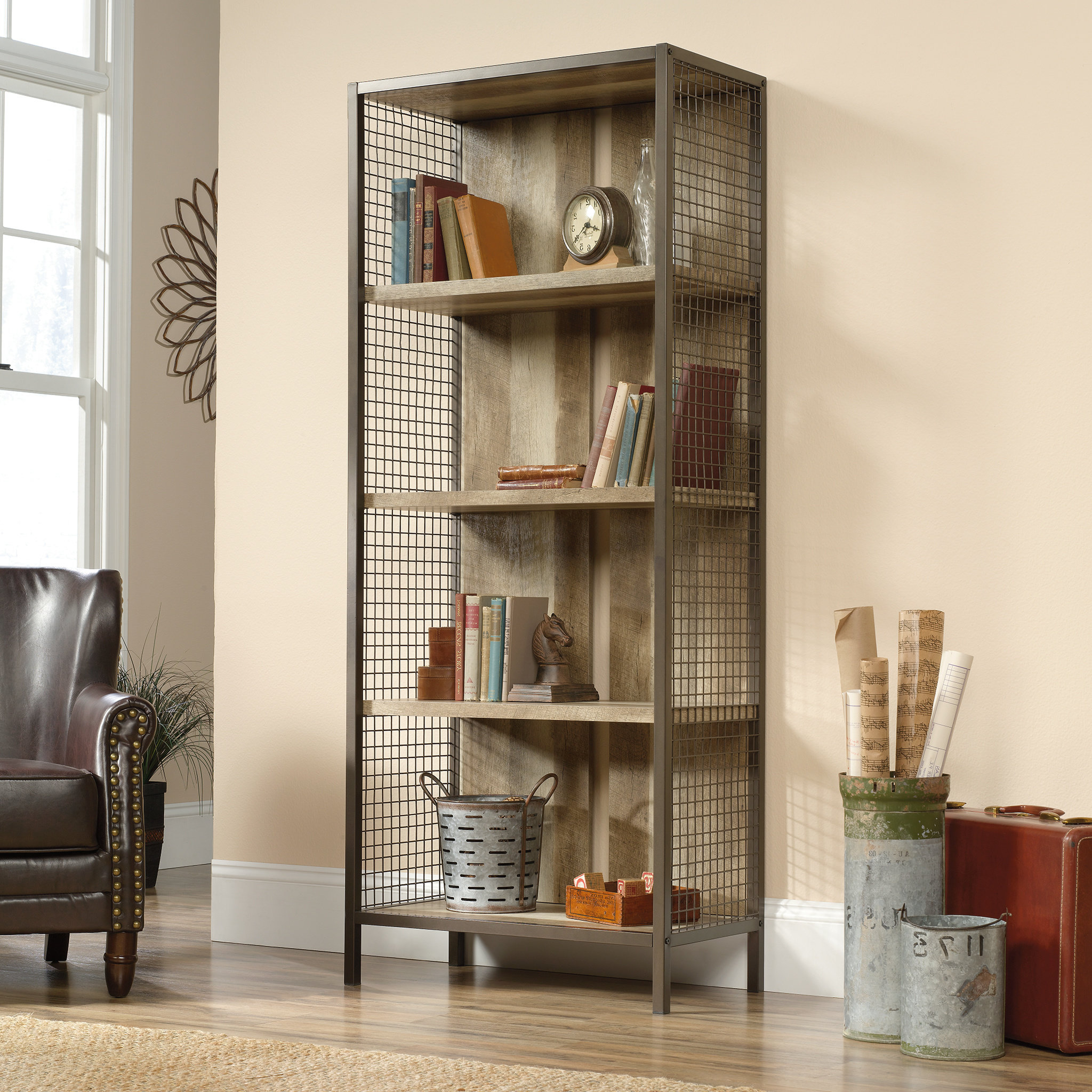 Most Up To Date Chantrell Standard Bookcase Intended For Kayli Standard Bookcases (View 10 of 20)