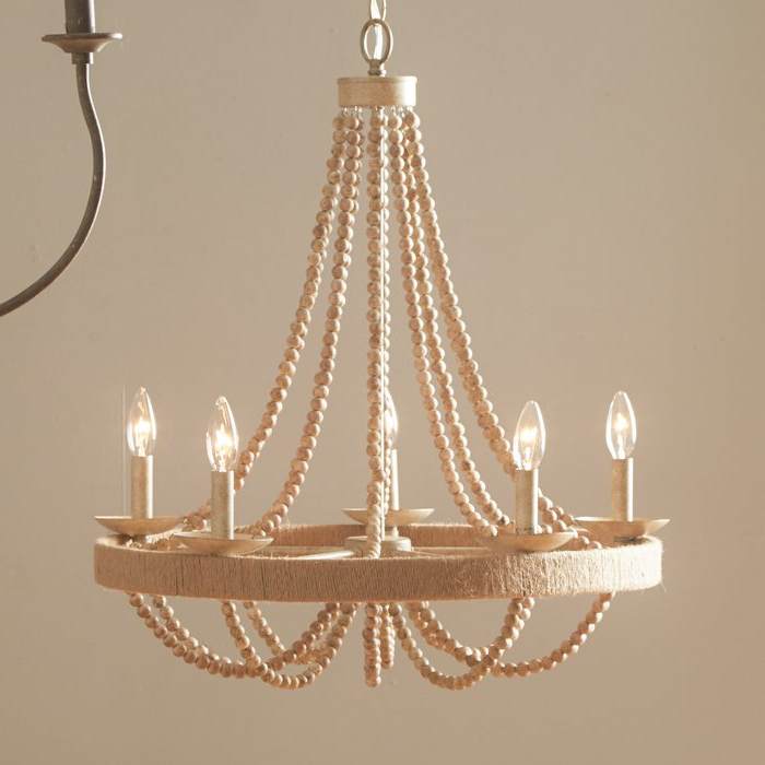 Featured Photo of Duron 5 Light Empire Chandeliers