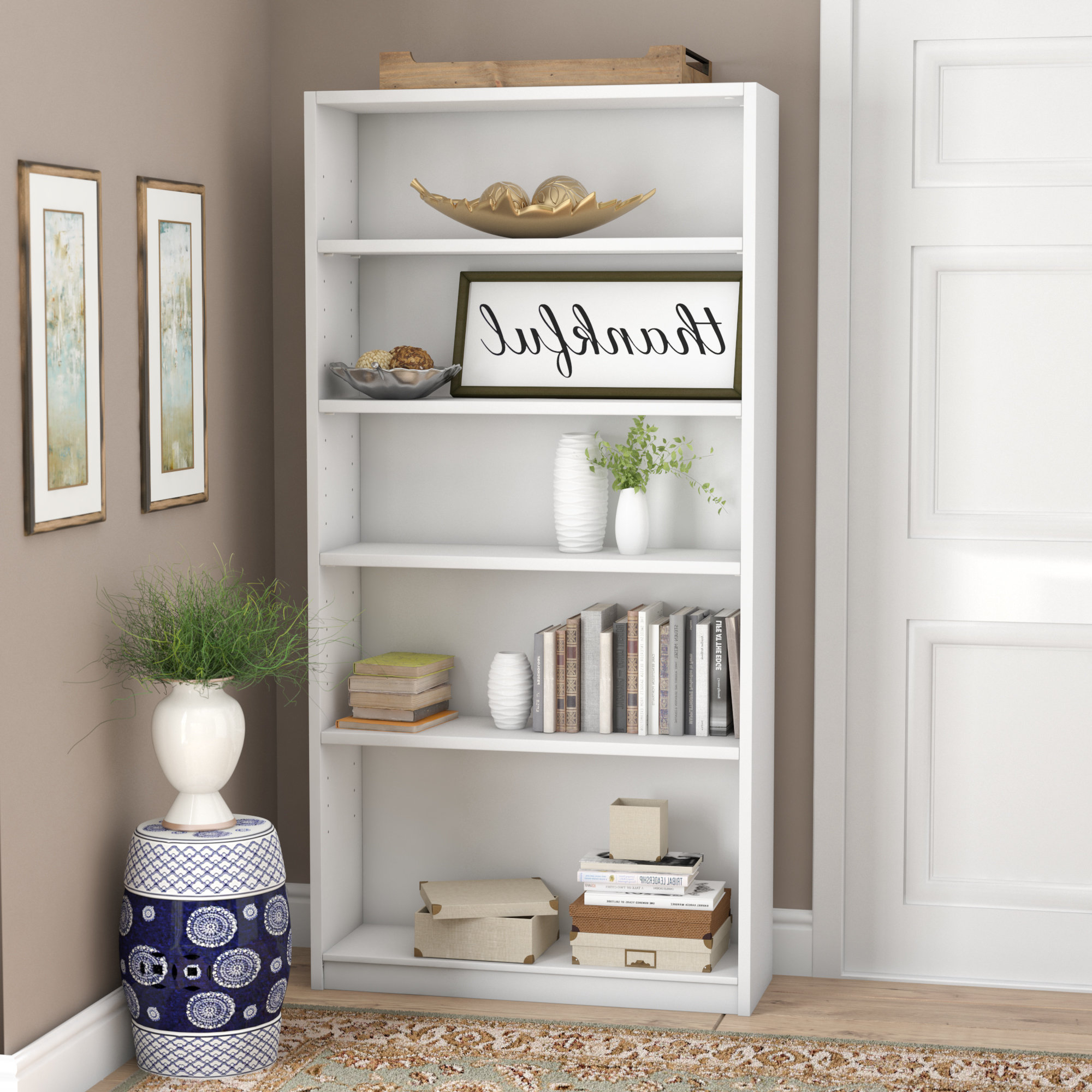 Most Up To Date Ebern Designs Kirkbride Standard Bookcase Within Kirkbride Standard Bookcases (View 5 of 20)