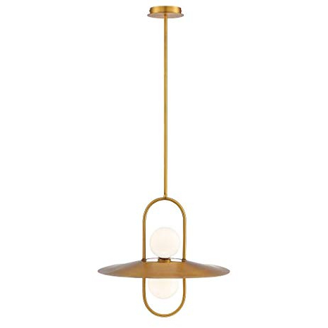 "Most Up To Date Eurofase 35898 030 Millbrook – 20"" 20w 2 Led Chandelier Throughout Millbrook 5 Light Shaded Chandeliers (View 13 of 25)"