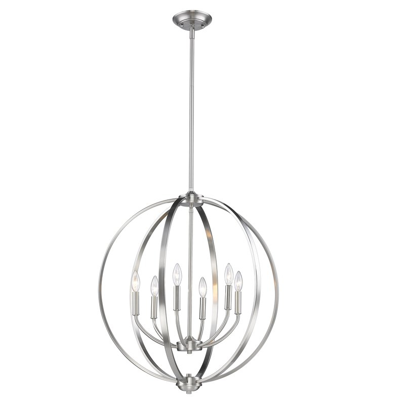 Most Up To Date Gregoire 6 Light Globe Chandeliers For Earlene 6 Light Globe Chandelier (View 19 of 25)