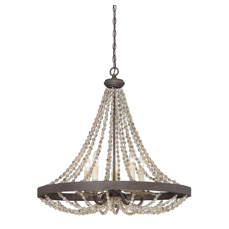 Most Up To Date Hatfield 3 Light Novelty Chandeliers Throughout Ladonna 5 Light Novelty Chandelier (View 22 of 25)