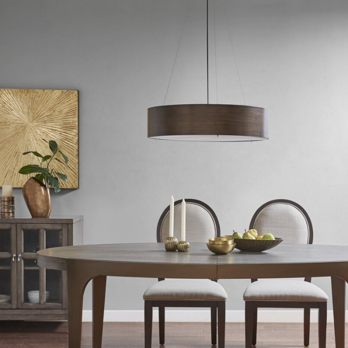 Most Up To Date Inspiring Dining Room Drum Chandelier Idea – Decorichmond With Regard To Wadlington 5 Light Drum Chandeliers (View 21 of 25)