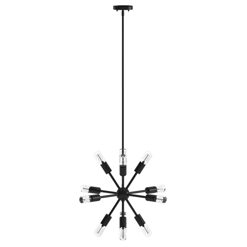 Most Up To Date Kendall 12 Light Sputnik Chandelier Pertaining To Vroman 12 Light Sputnik Chandeliers (View 11 of 25)