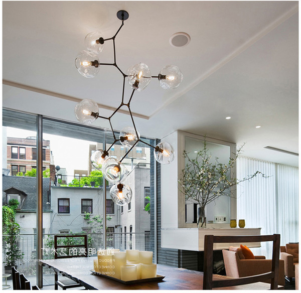 Most Up To Date Lindsey Adelman Chandeliers Lighting Modern Lamp Novelty Pendant Light  Natural Tree Branch Suspension Light Hotel Dinning Room Light Fixture  Ceiling Inside Lindsey 4 Light Drum Chandeliers (View 20 of 25)
