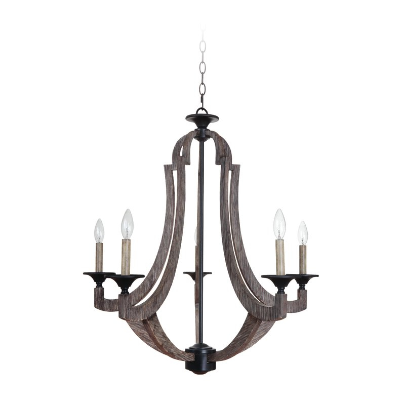 Most Up To Date Marcoux 5 Light Empire Chandelier Intended For Kenna 5 Light Empire Chandeliers (View 19 of 25)