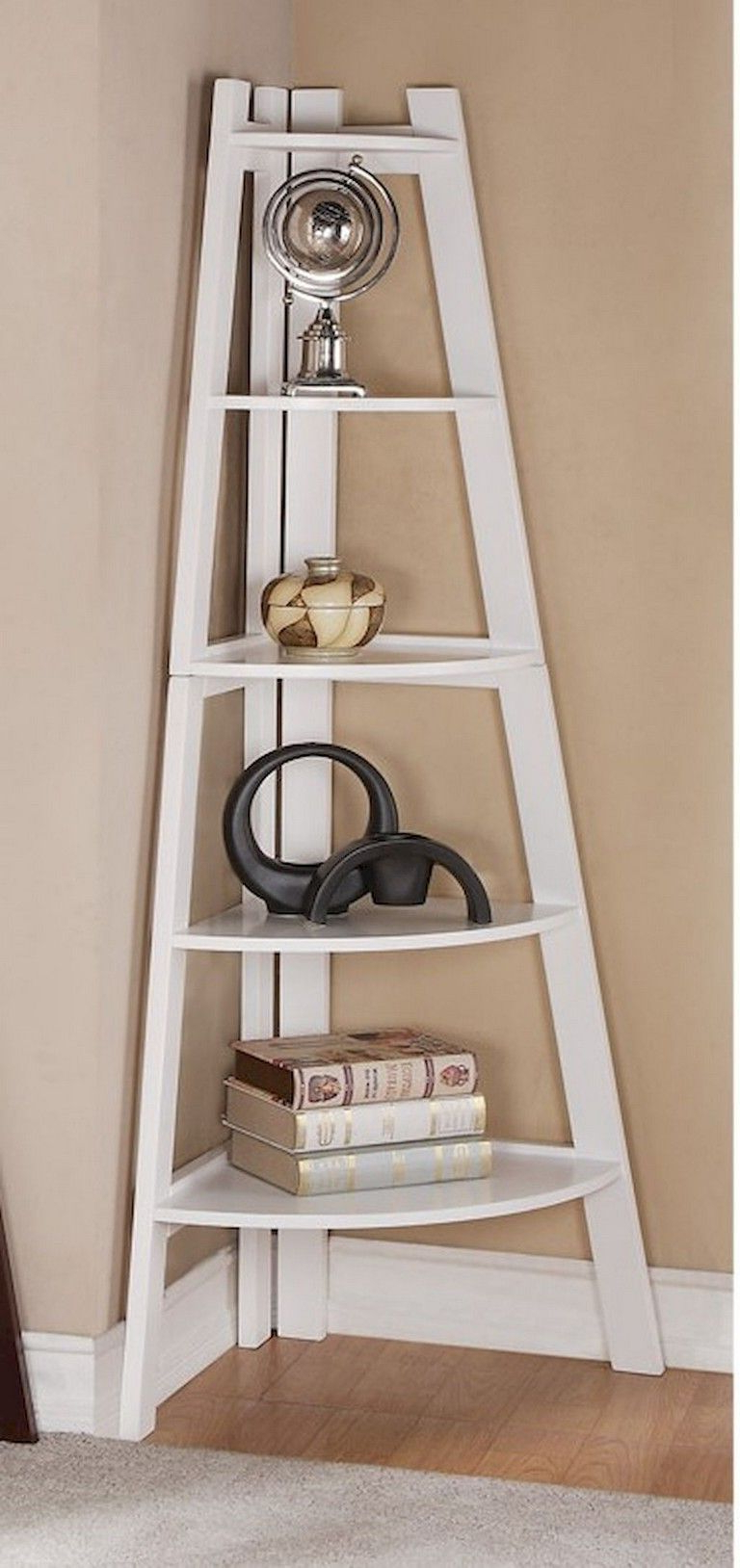 Most Up To Date Mari Wood Corner Bookcases Pertaining To 28+ Awesome Diy Corner Shelves To Beautify Your Awkward (View 14 of 20)