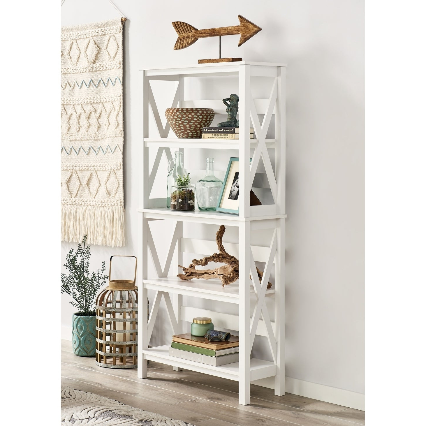 Most Up To Date Parker Modern Etagere Bookcases Regarding Buy Etagere Bookshelves & Bookcases Online At Overstock (View 6 of 20)