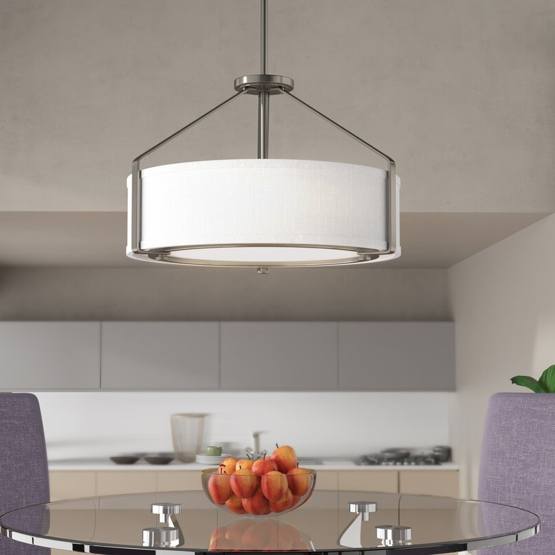 Most Up To Date Richardson 4 Light Drum Chandelier With Alverez 4 Light Drum Chandeliers (View 3 of 25)