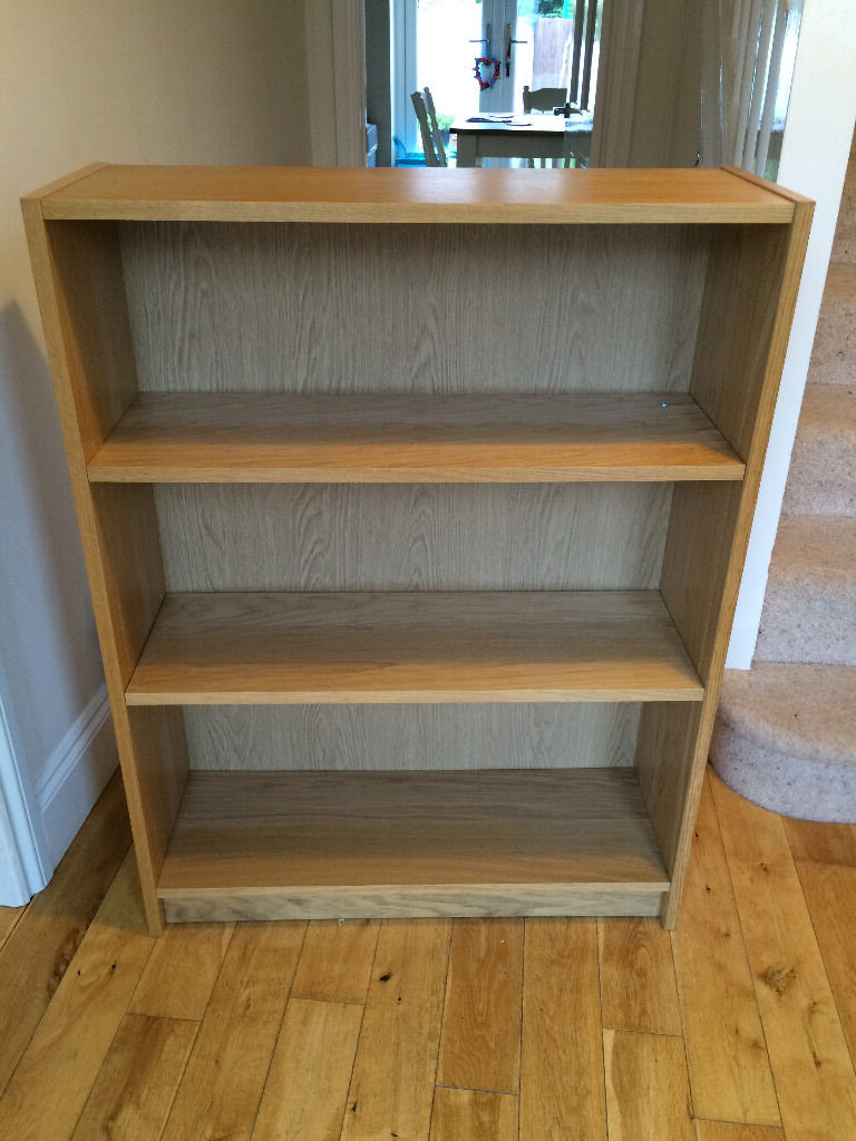 Most Up To Date Staple Hill Bookcases Inside Billy Shelving Unit Ikea – Oak Veneer (View 14 of 20)