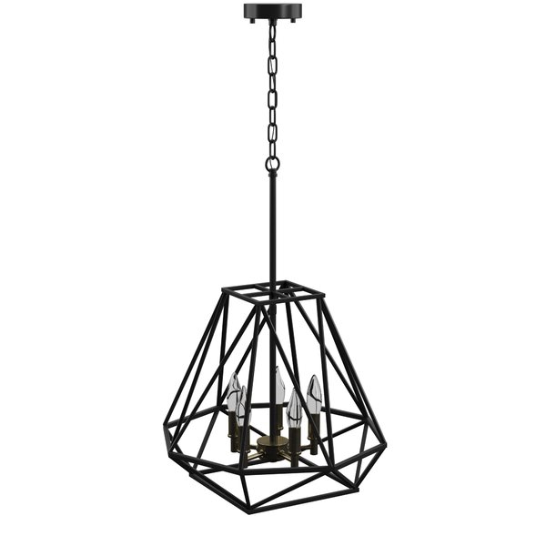 Most Up To Date Tabit 5 Light Geometric Chandeliers With Tabit 5 Light Geometric Chandelier (View 6 of 25)