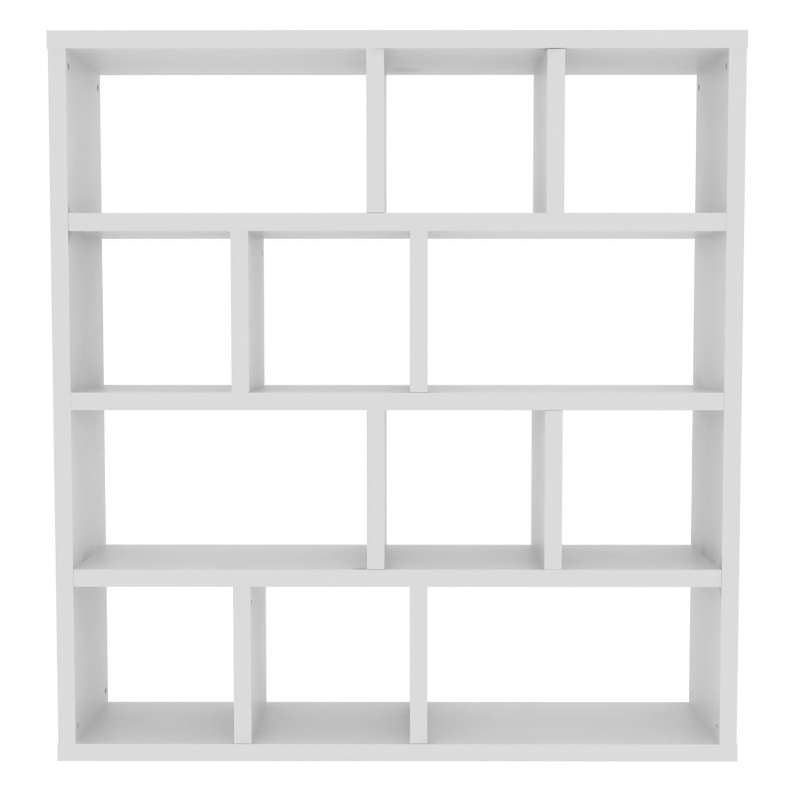 Most Up To Date Varga 5 Level Geometric Bookcases In Tema Furniture Berlin Modular Bookcase (View 9 of 20)
