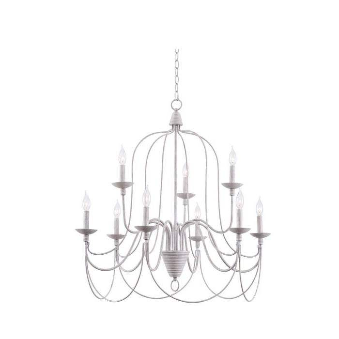 Most Up To Date Watford 9 Light Candle Style Chandeliers With Regard To Watford 9 Light Candle Style Chandelier (View 5 of 25)