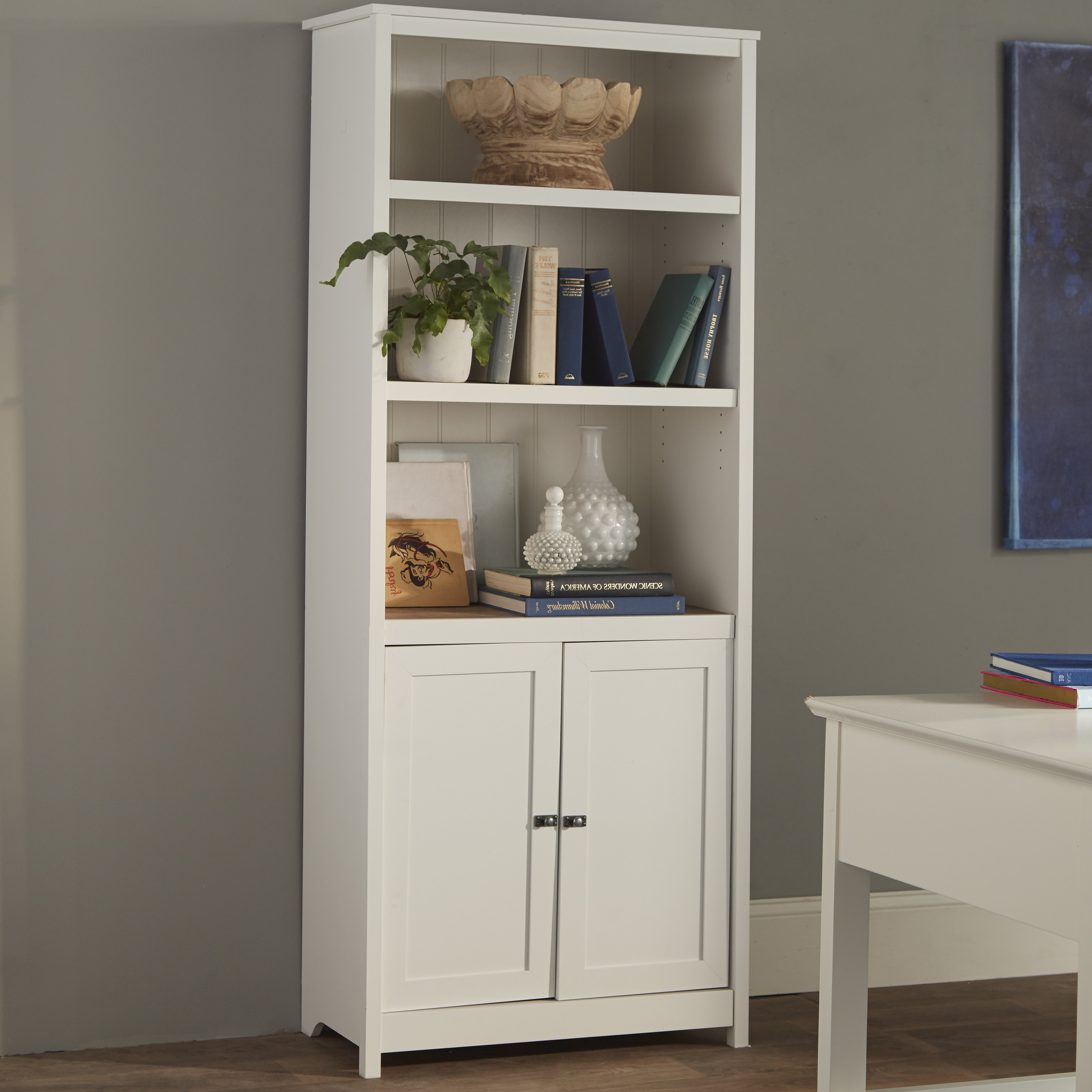 Myrasol Standard Bookcase For Most Popular Pinellas Tall Standard Bookcases (View 10 of 20)