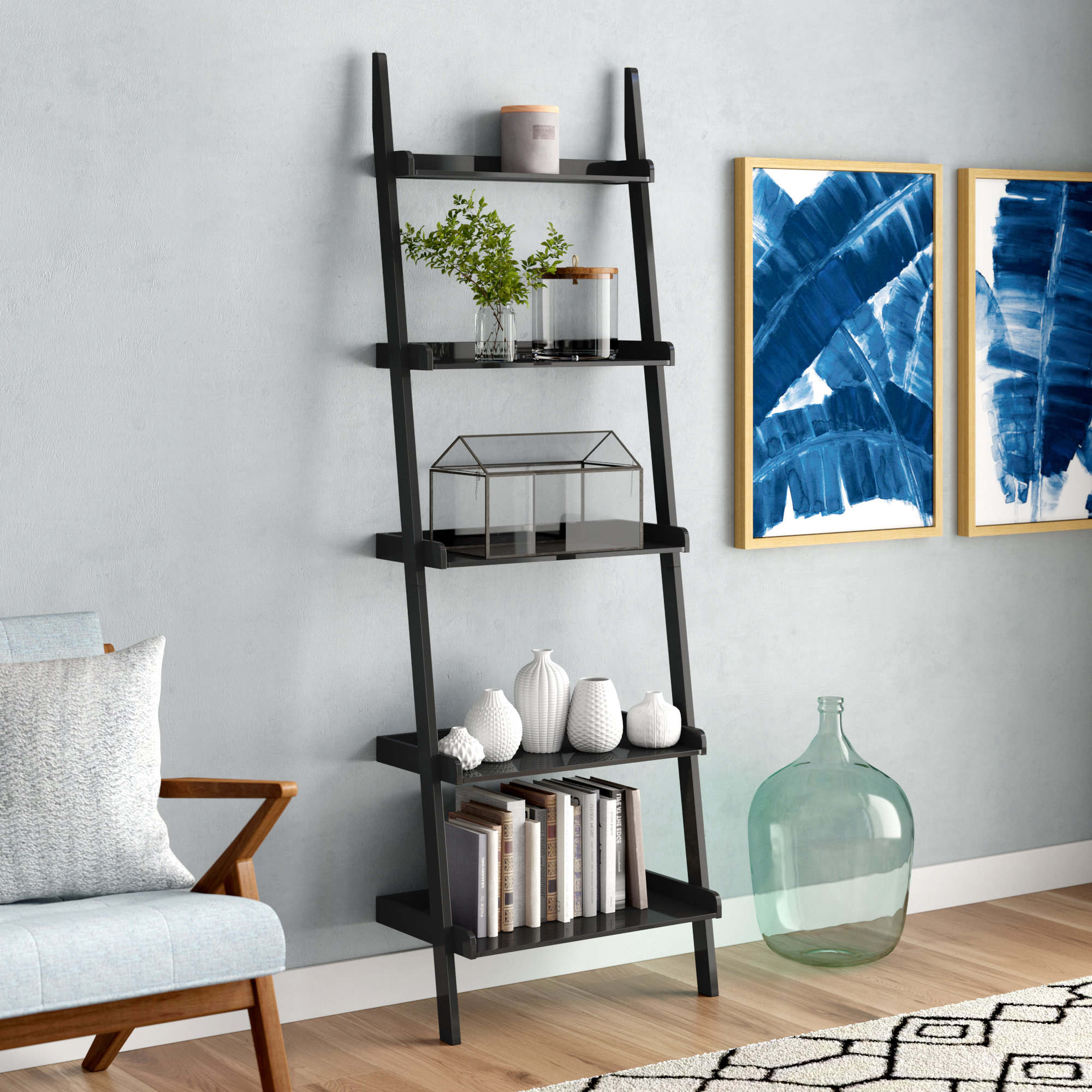 Featured Photo of Nailsworth Ladder Bookcases