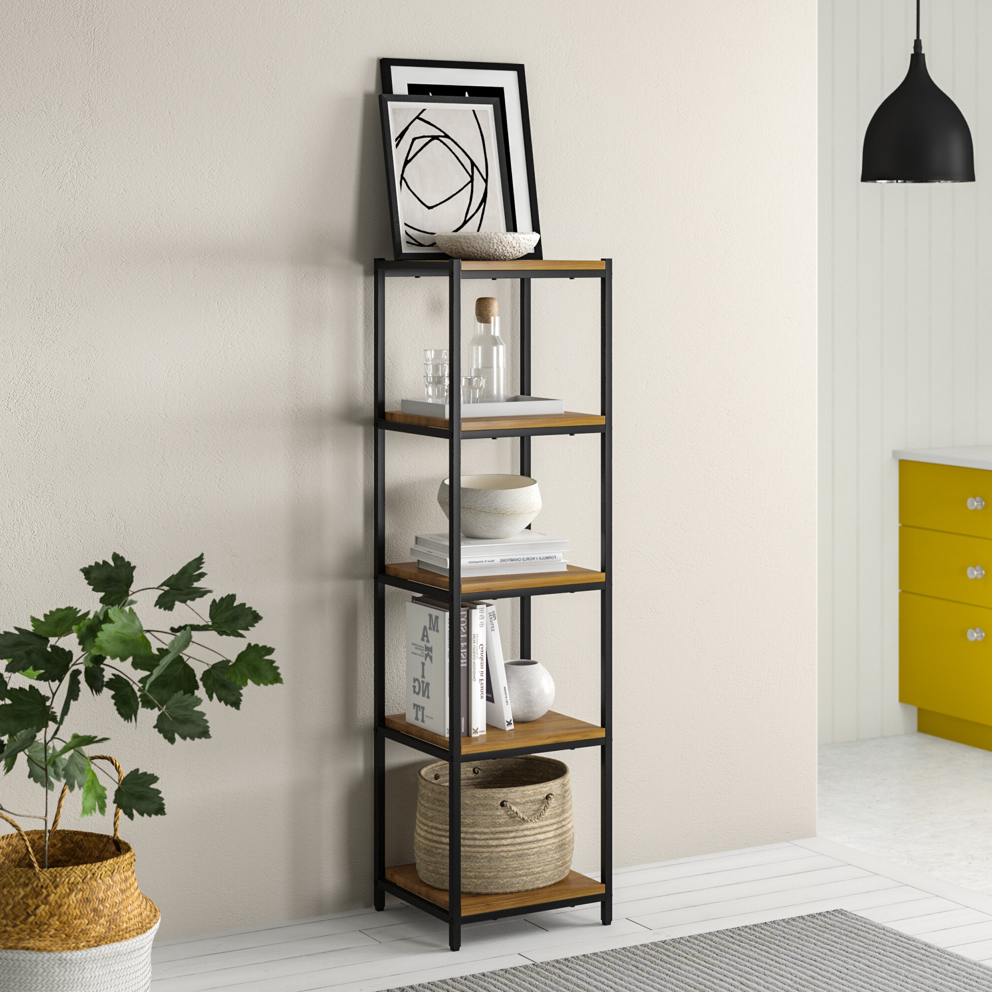 Narrow Profile Standard Cube Bookcases With Fashionable Cube Narrow (under 20 In (View 7 of 20)