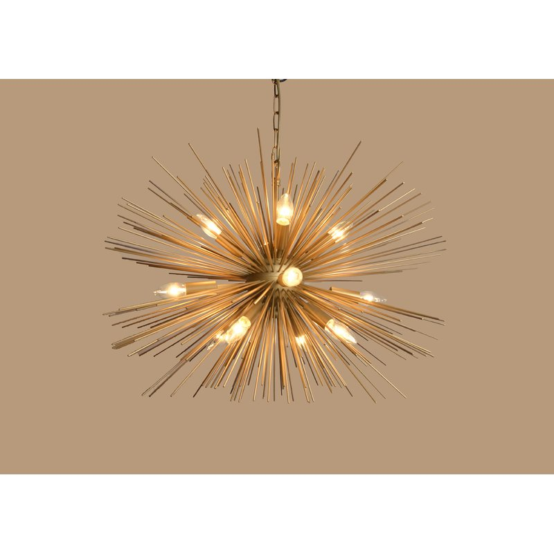 Nelly 12 Light Sputnik Chandeliers For Most Popular Duron 12 Light Sputnik Chandelier (Gallery 13 of 25)