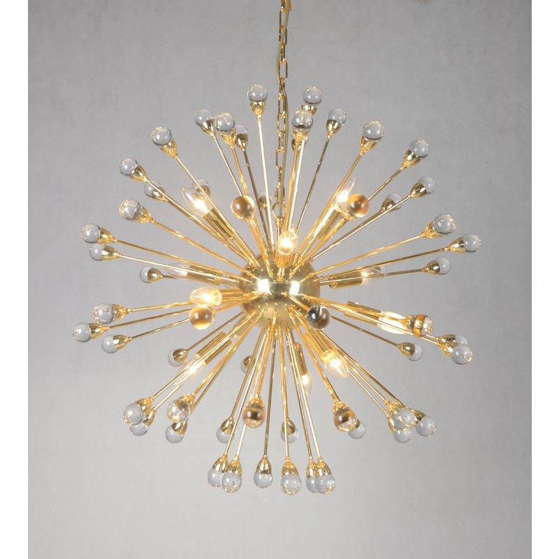 Nelly 12 Light Sputnik Chandeliers In Most Recently Released Kucharski 12 Light Sputnik Chandelier (Gallery 16 of 25)