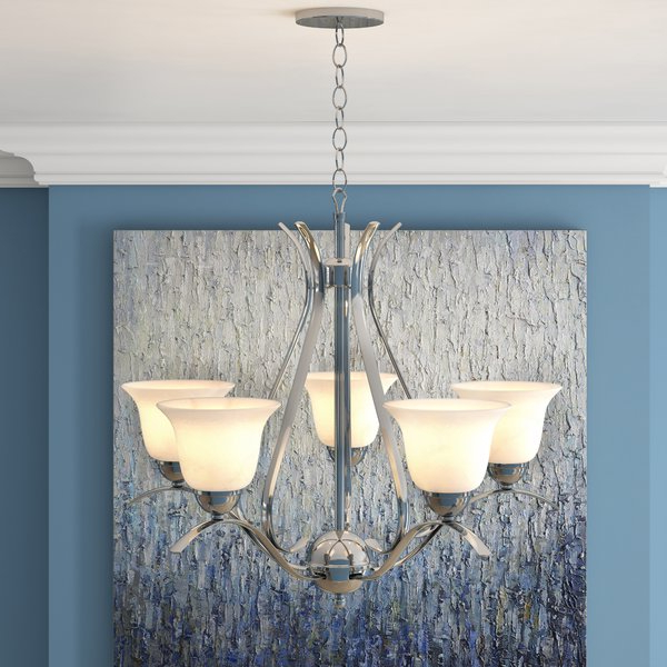 Newent 5 Light Shaded Chandelier Throughout Most Popular Newent 5 Light Shaded Chandeliers (View 11 of 25)