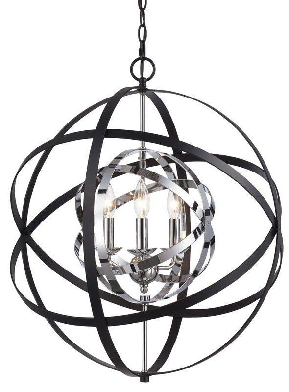 Newest Alden 3 Light Single Globe Pendants With Rhinecliff 3 Light Globe Pendant (Gallery 7 of 25)