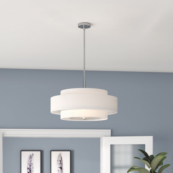 Newest Alina 5 Light Drum Chandeliers Pertaining To Alina 5 Light Drum Chandelier (View 7 of 25)