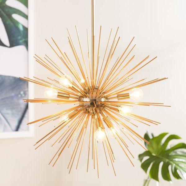 Newest Charboneau 8 Light Sputnik Chandelier In 2019 (Gallery 20 of 25)