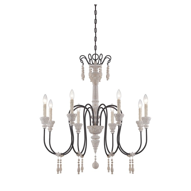 Newest Corneau 5 Light Chandeliers In Ailsa 8 Light Candle Style Chandelier (View 6 of 25)