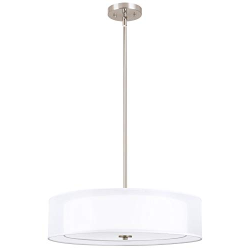 Newest Dimmable Drum Chandelier Lighting: Amazon For Breithaup 7 Light Drum Chandeliers (Gallery 13 of 25)
