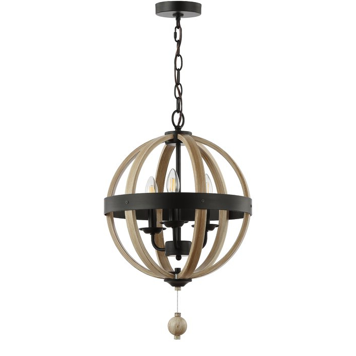 Newest Donna 4 Light Globe Chandeliers For Cauthen 3 Light Globe Chandelier (View 18 of 25)