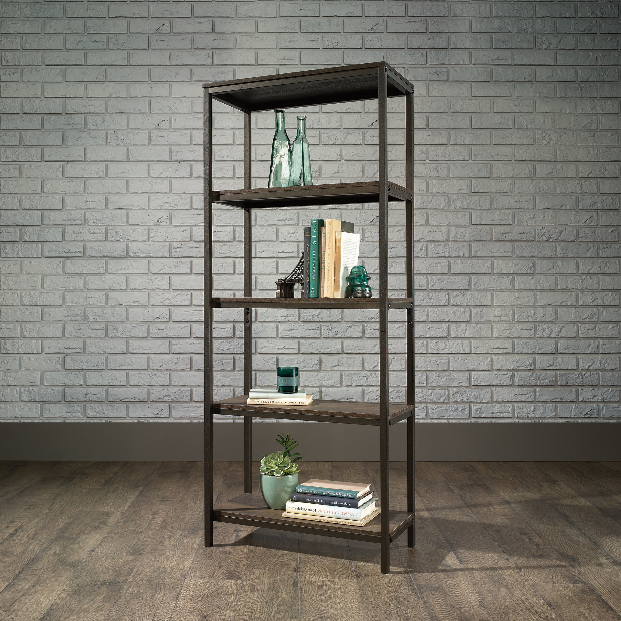 Newest Ermont Etagere Bookcase With Regard To Ermont Etagere Bookcases (View 8 of 20)