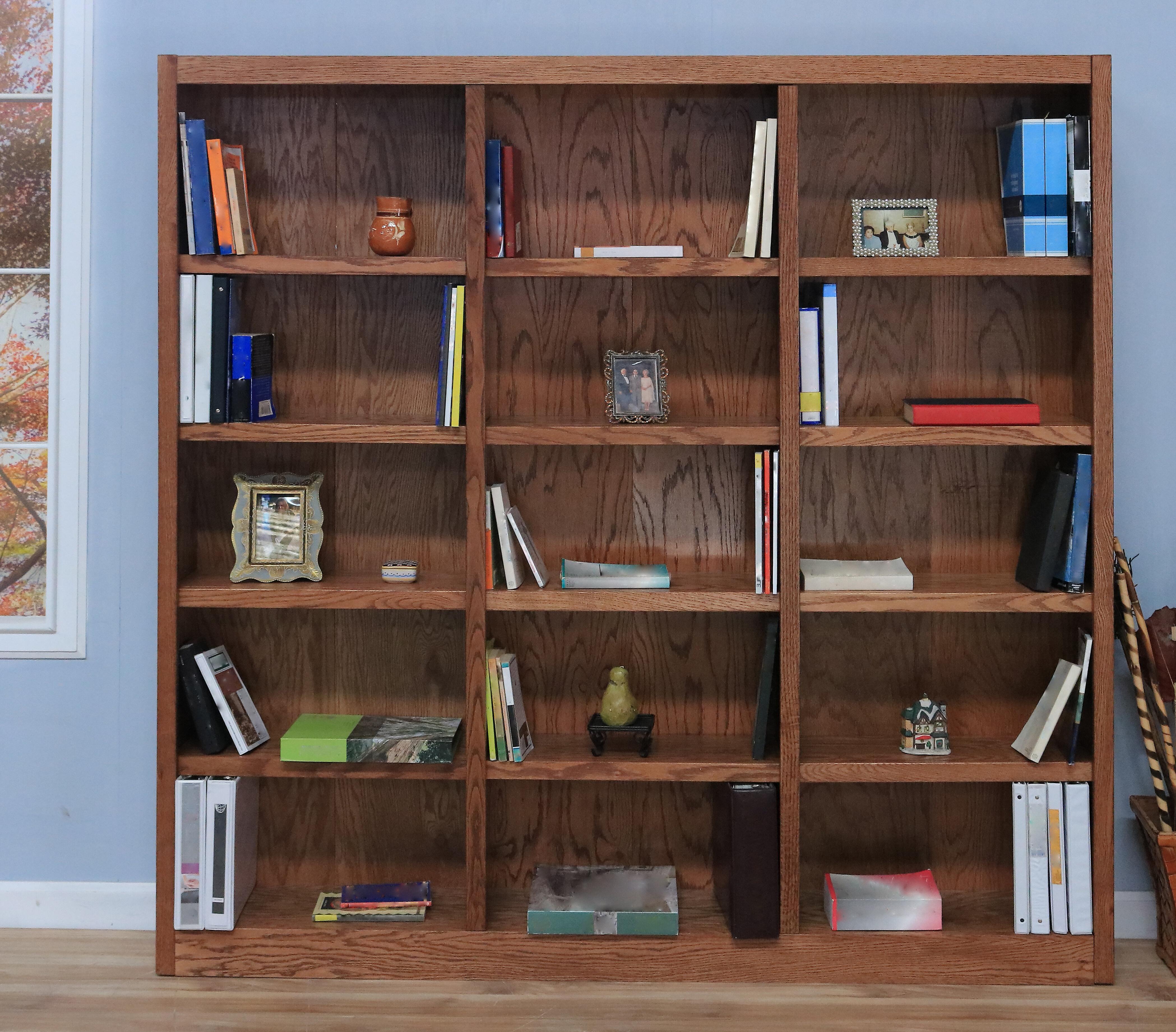 Newest Flannagan Standard Bookcase Within Reynoldsville Standard Bookcases (View 9 of 20)