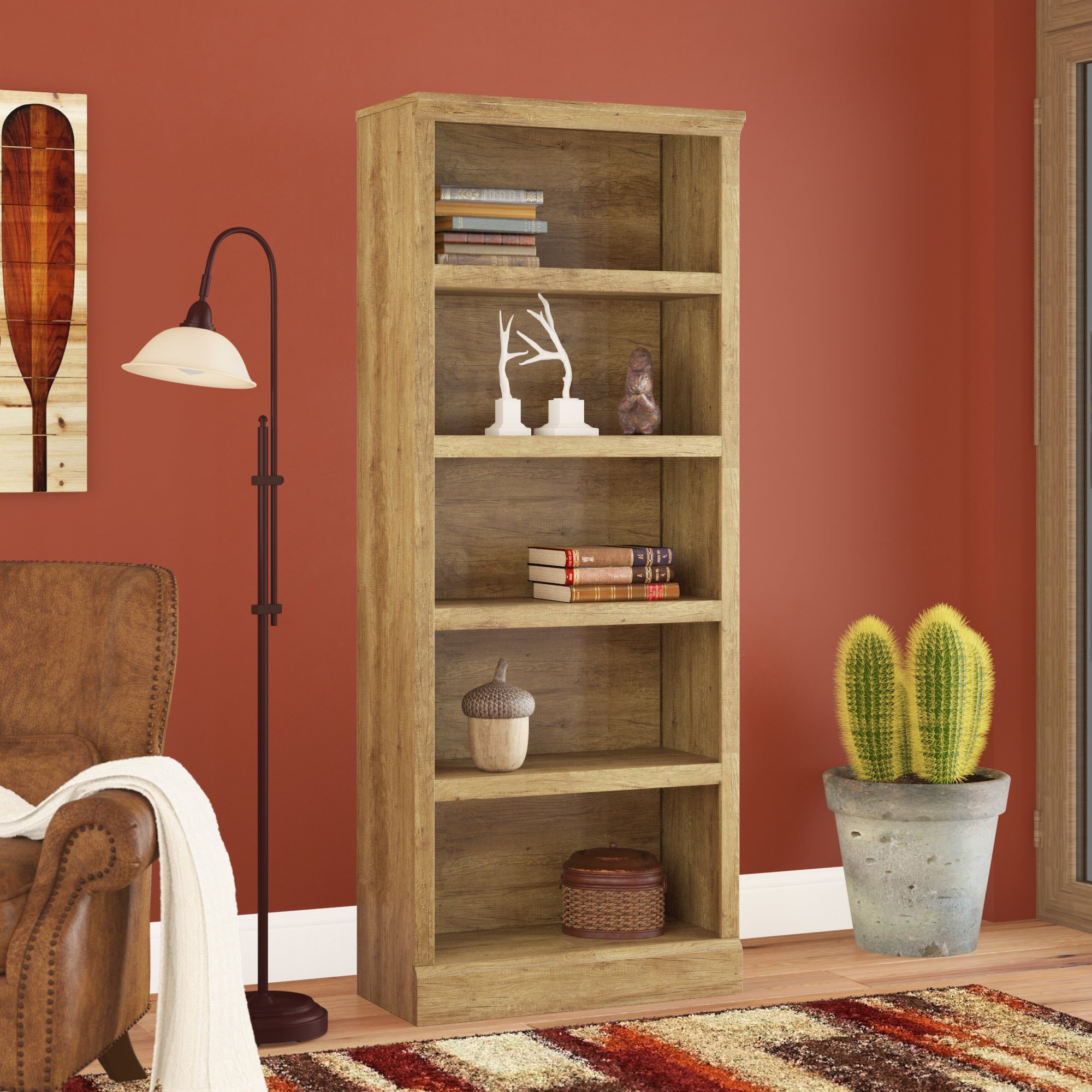 Newest Kayli Standard Bookcases Throughout Kayli Standard Bookcase (Gallery 3 of 20)