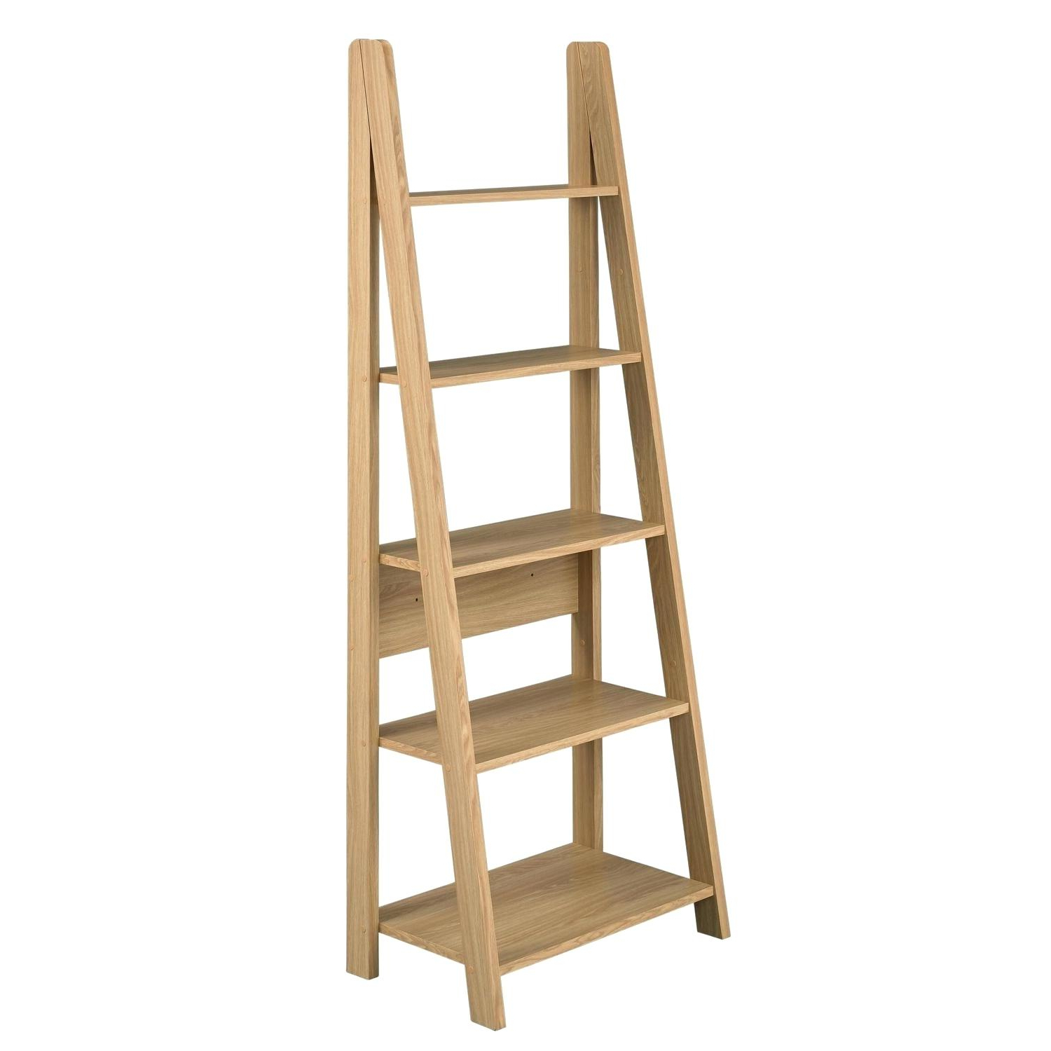 Newest Ladder Style Bookcase – Thegiggles.co With Regard To Averett Ladder Bookcases (Gallery 16 of 20)