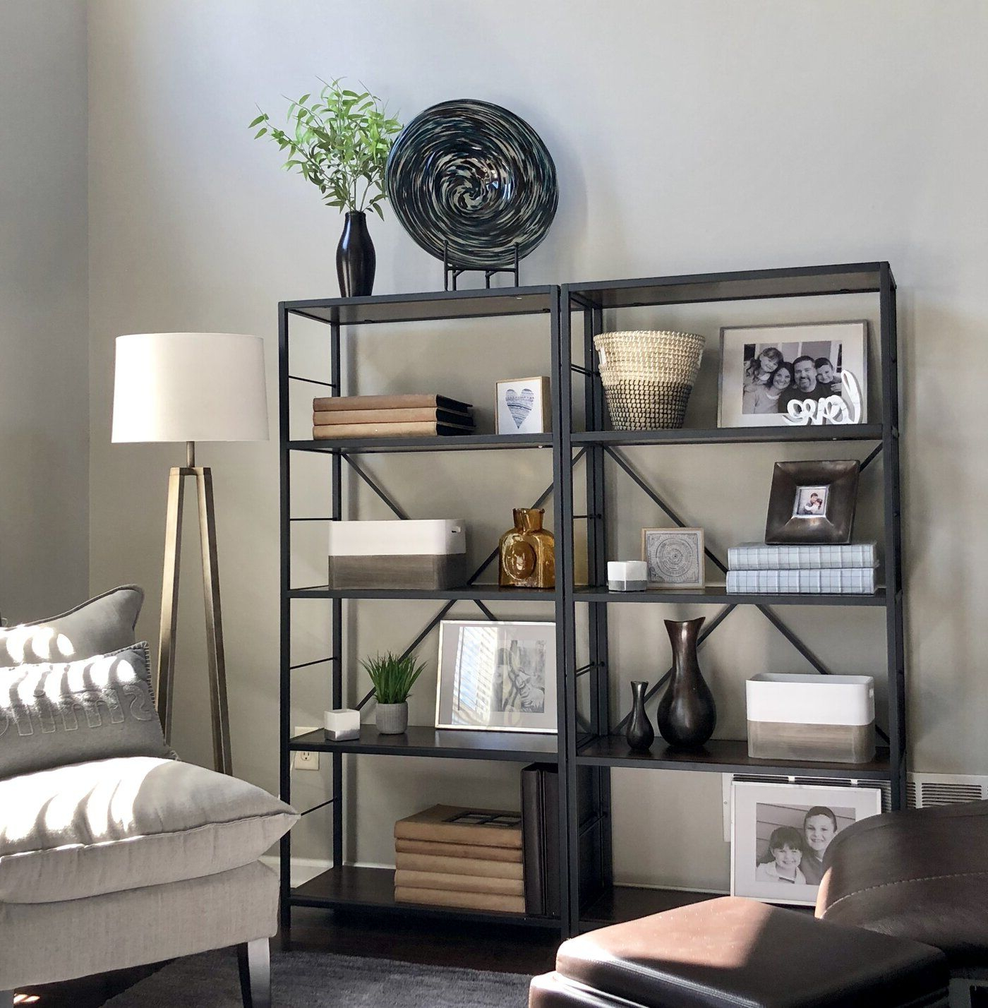 Newest Macon Etagere Bookcase (View 7 of 20)
