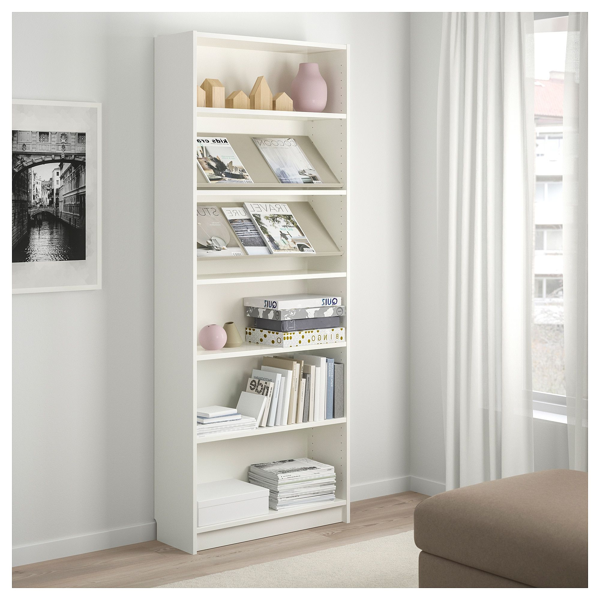 Newest Morrell Standard Bookcases With Ikea – Billy / Bottna Bookcase With Display Shelf White (View 14 of 20)