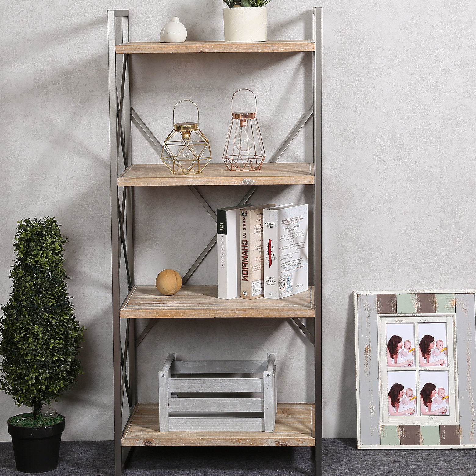 Newest Saskia Etagere Bookcases With Carncoagh Etagere Bookcase (View 3 of 20)