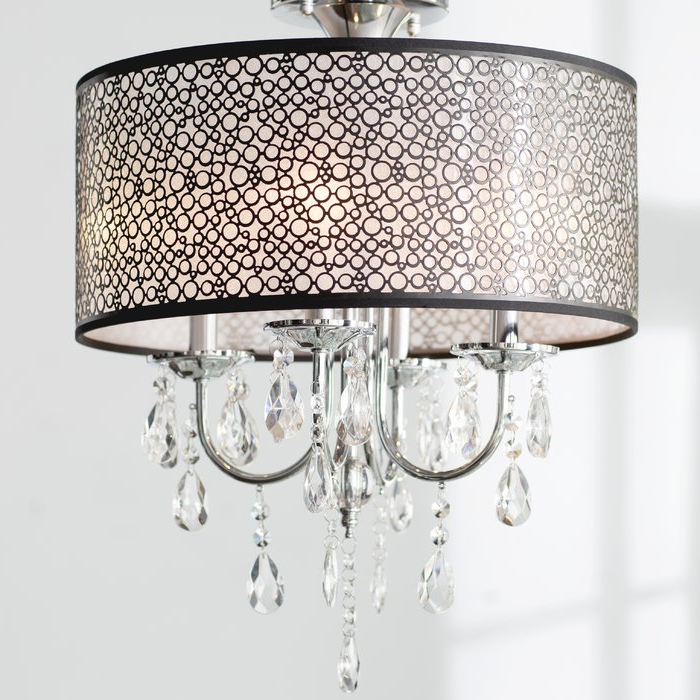 Newest Sinead 4 Light Chandeliers Regarding Sinead 4 Light Chandelier (View 14 of 25)