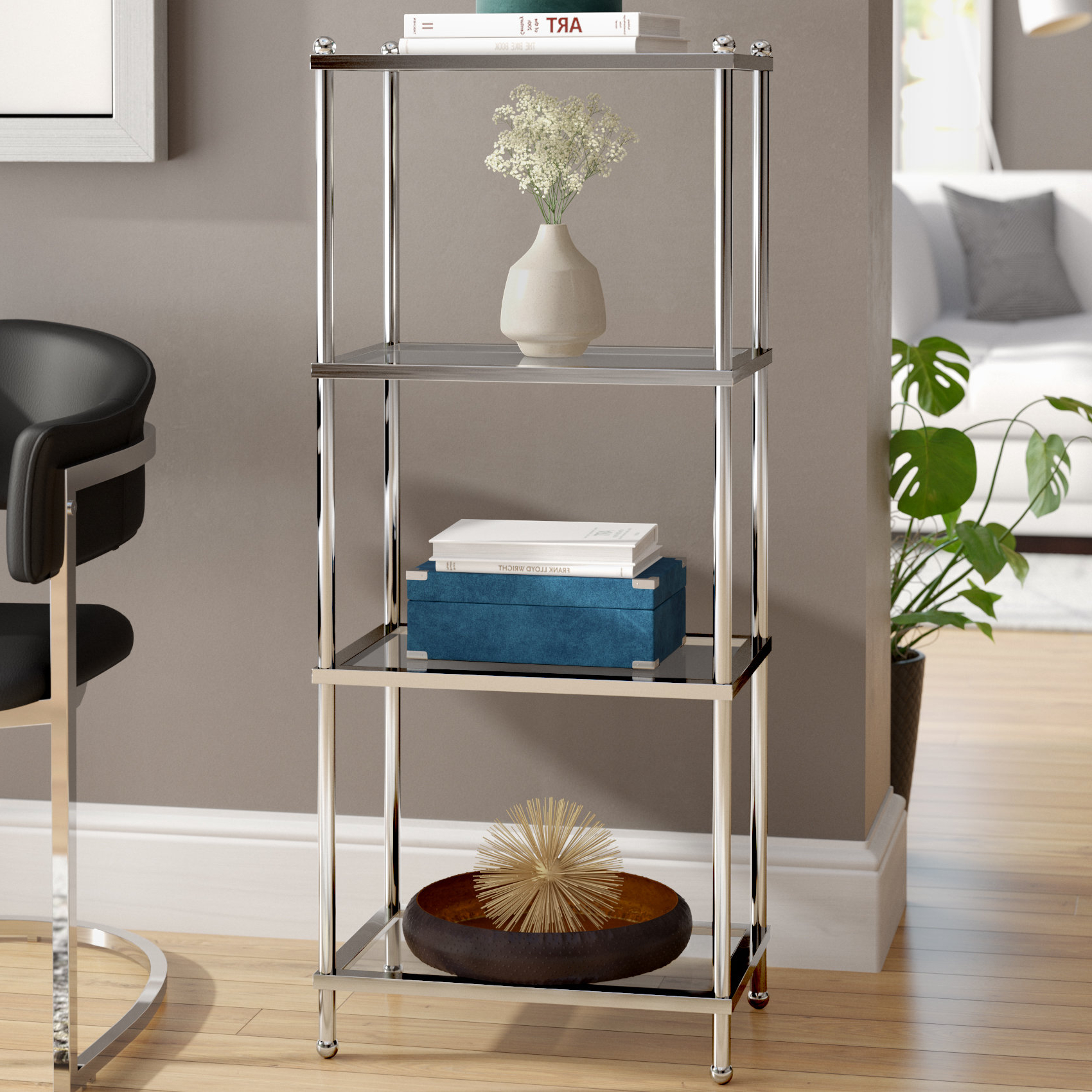 Newest Staple Hill Bookcases With Stamford Etagere Bookcase & Reviews (View 17 of 20)