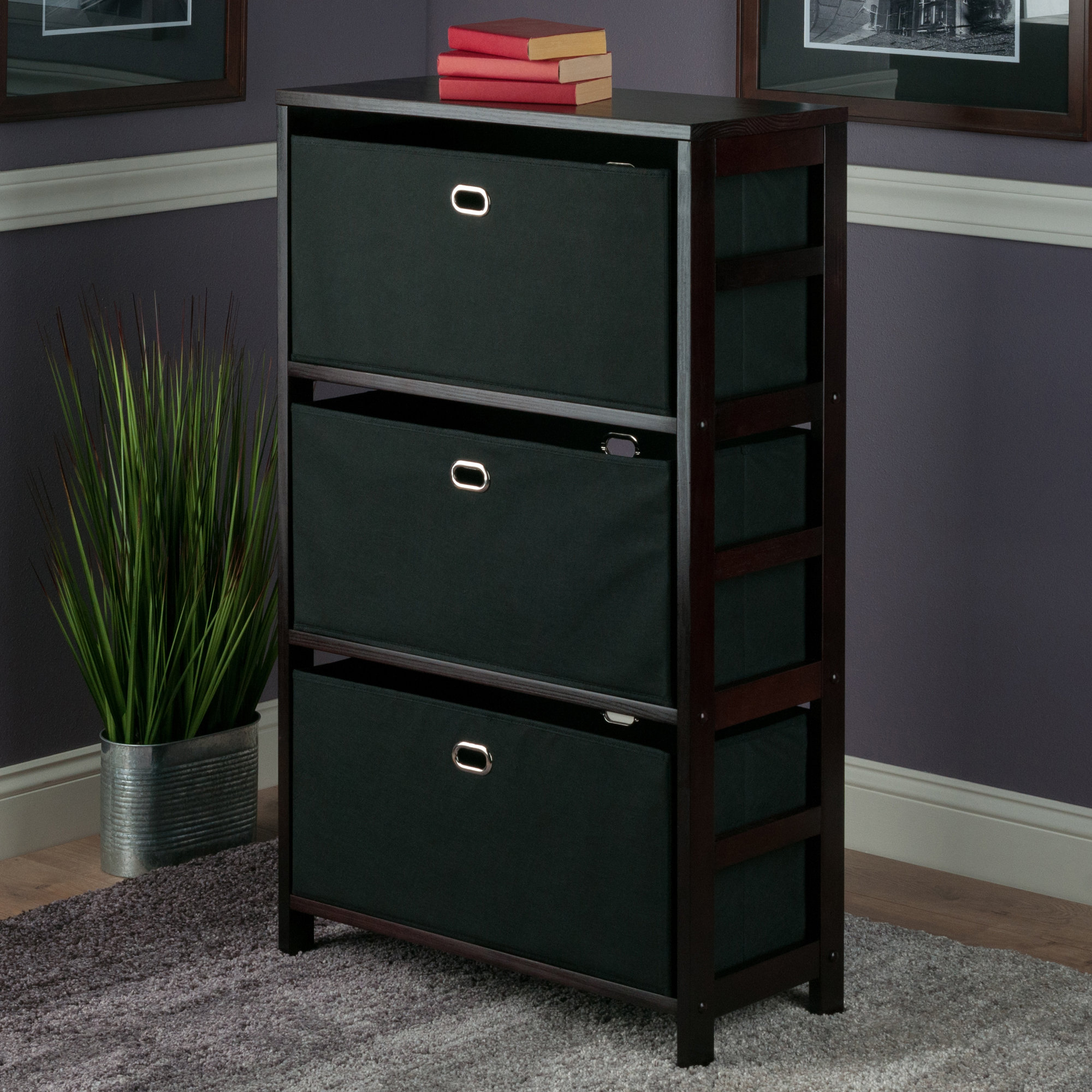 Newest Tinoco Storage Shelf Standard Bookcases Inside Tinoco Storage Shelf Standard Bookcase (Gallery 1 of 20)